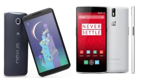 OnePlus One vs Nexus 6