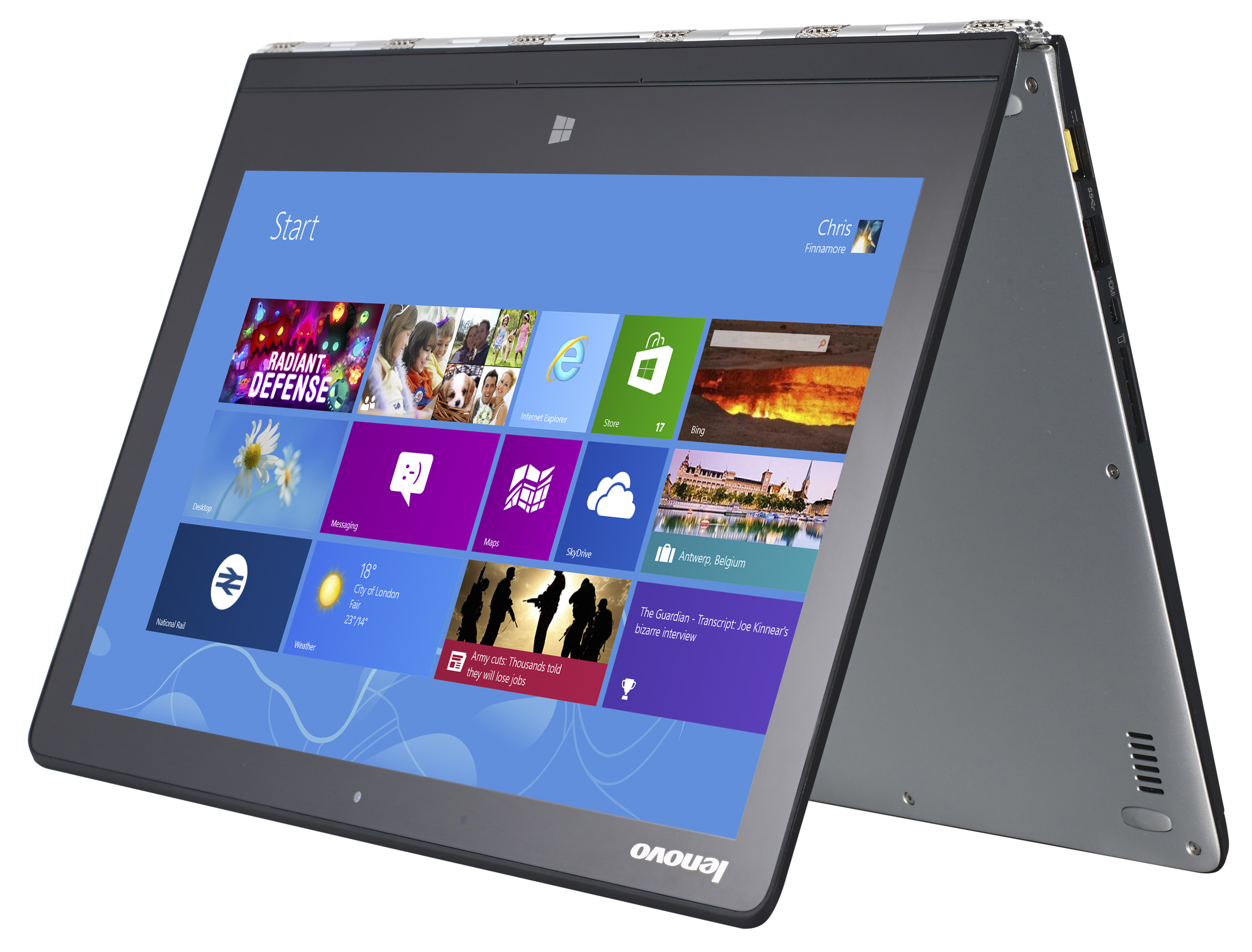 Lenovo Yoga 3 Pro - The Best Hybrid Laptop