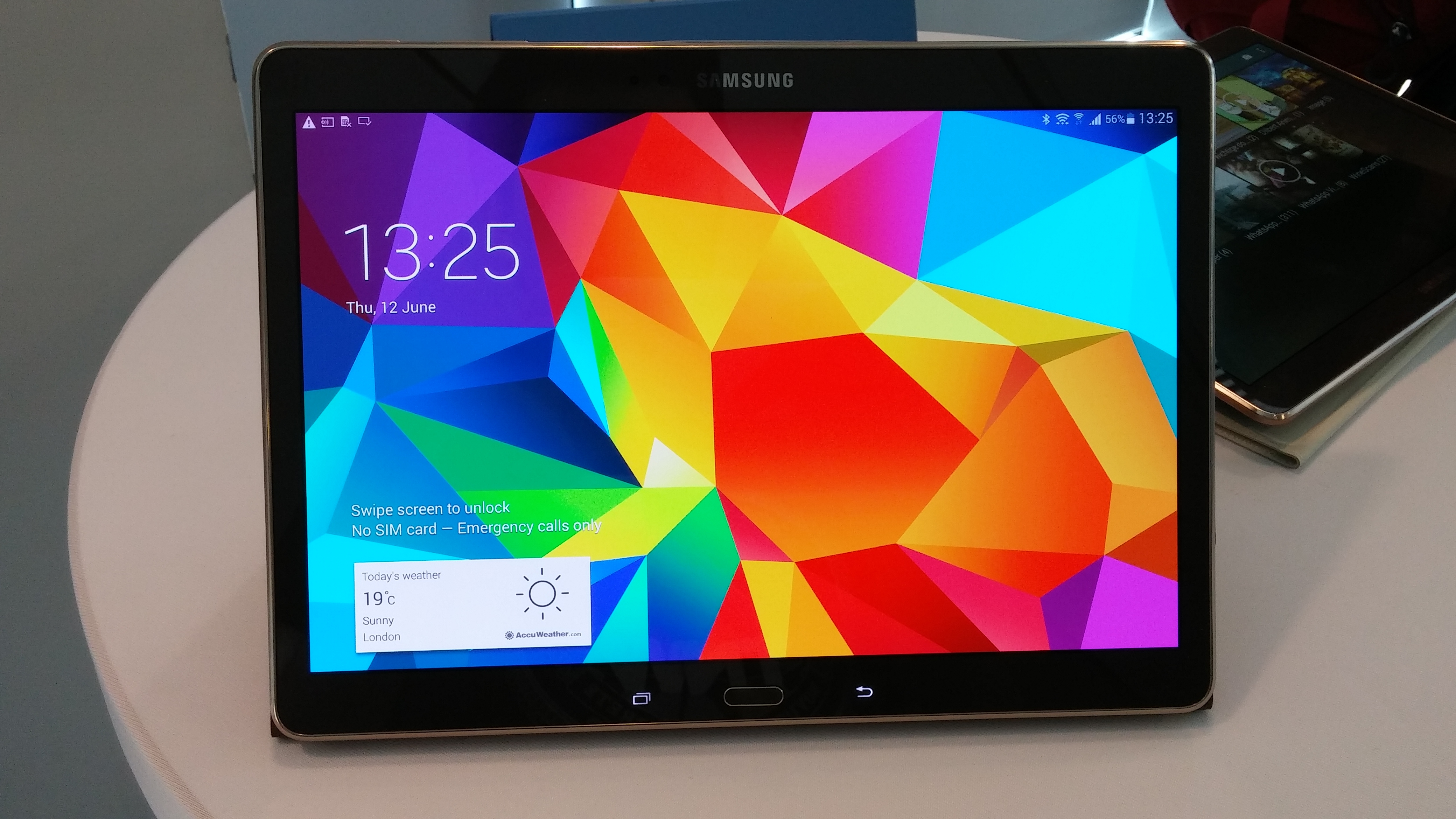 samsung galaxy tab s the new samsung tablet review tech. Black Bedroom Furniture Sets. Home Design Ideas