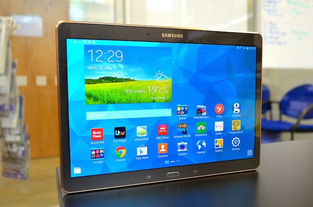 Galaxy Tab S Software