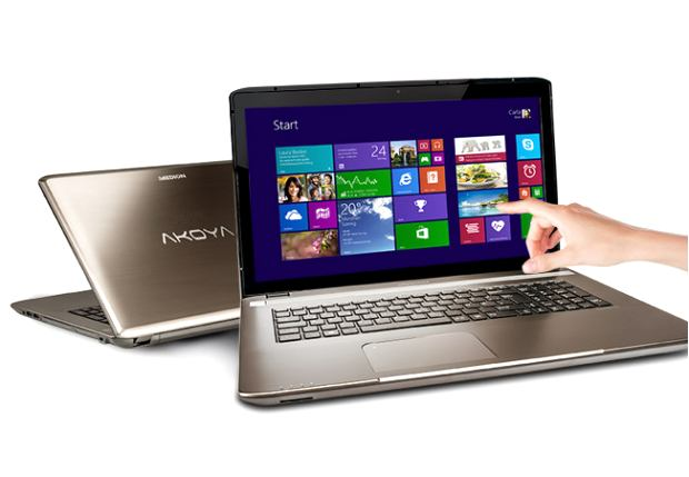 Medion Akoya Touch-Netbook