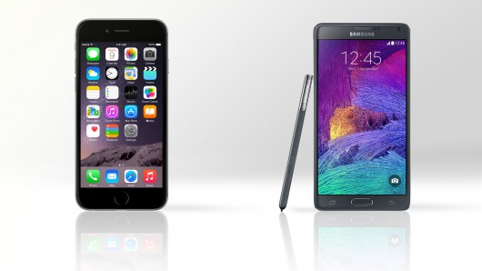 Iphone 6 Plus Vs Samsung Galaxy Note 4 Battle Of The