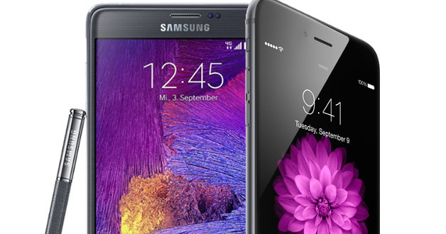 iPhone 6 Plus vs Samsung Galaxy Note 4