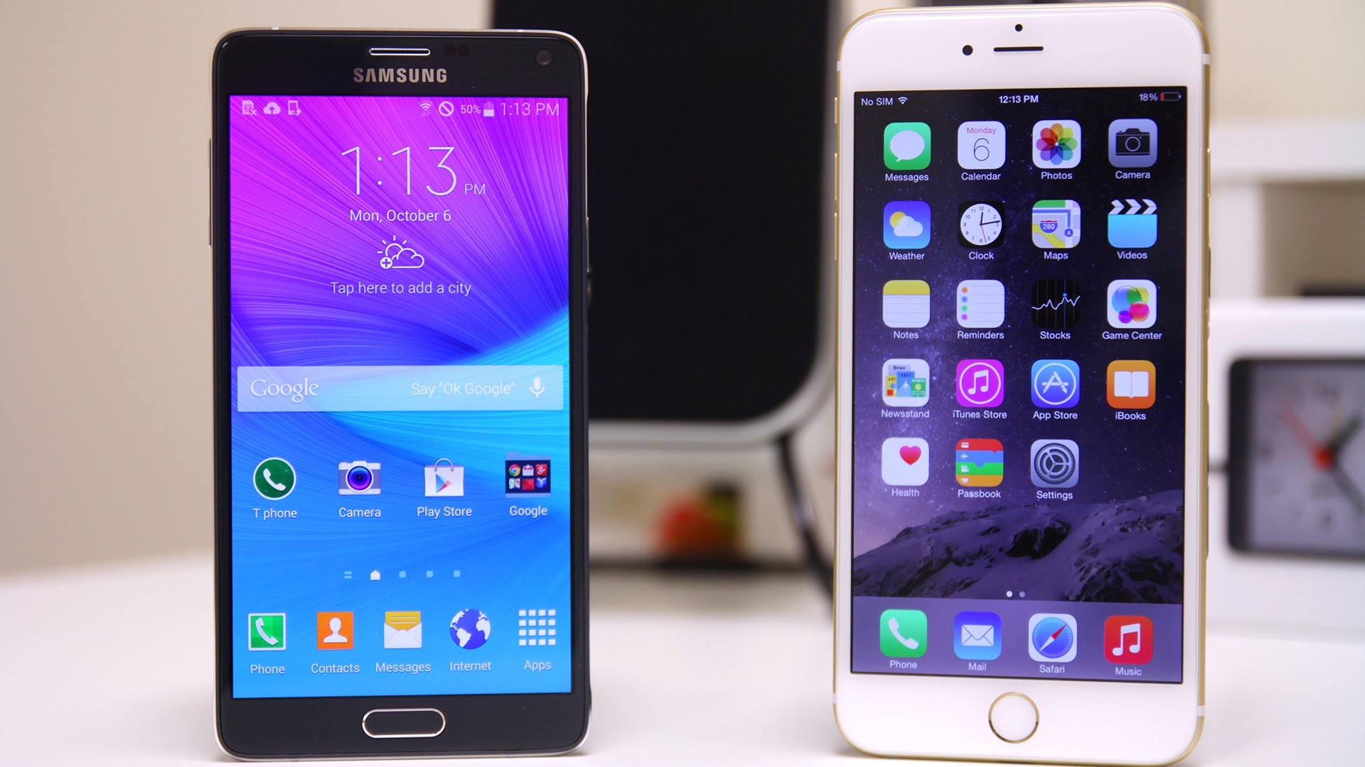 iPhone 6 Plus vs Galaxy Note 4 Hardware