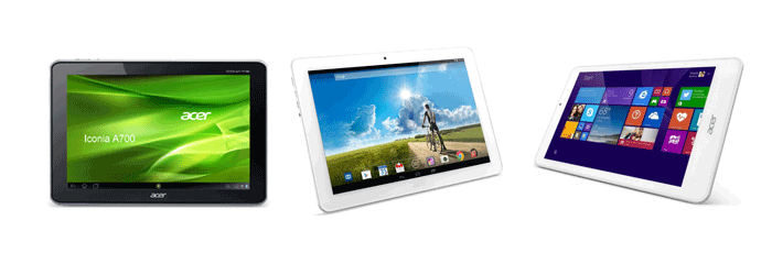 Acer Iconia Models