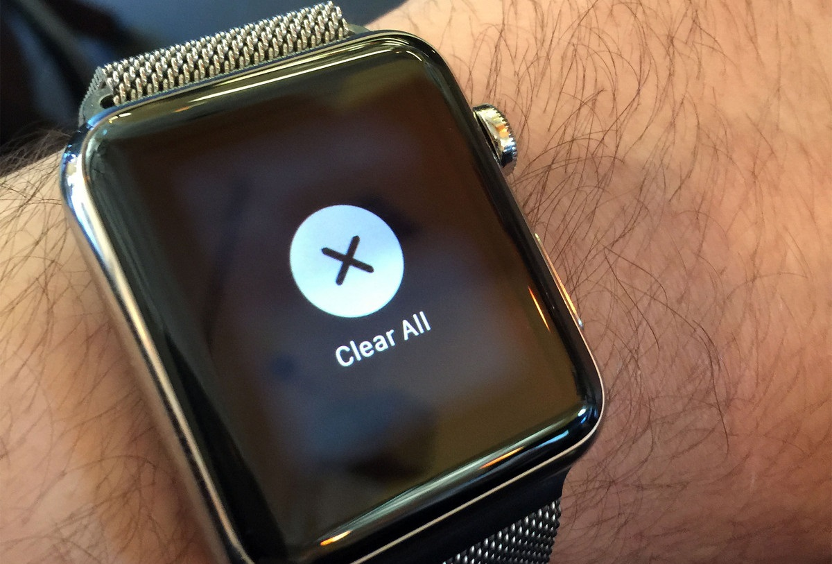 Apple Watch Clearing Notifications