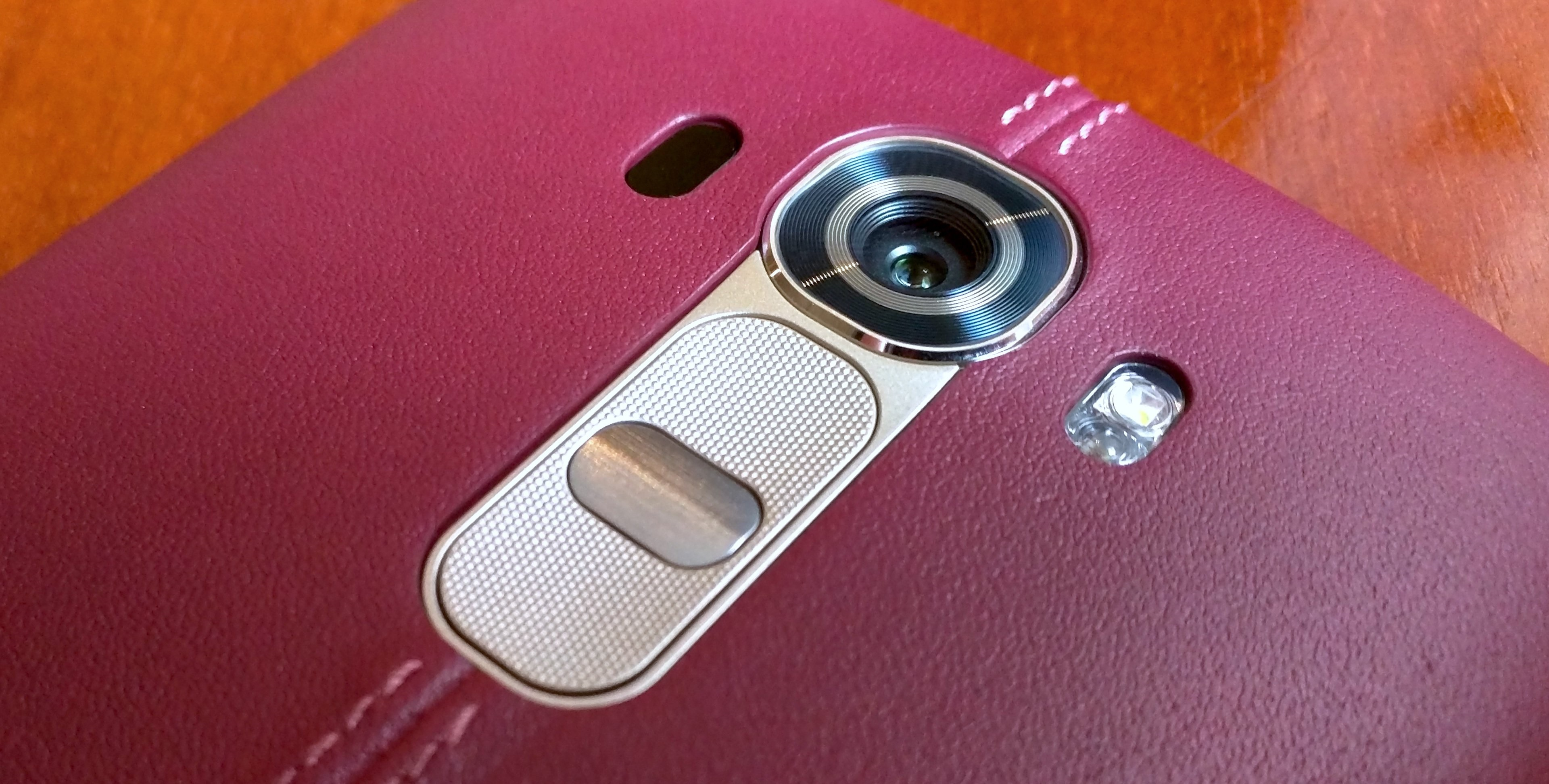 LG G4  Back Leather Camera