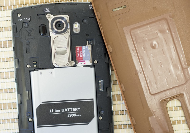 LG G4 Battery & SD Card