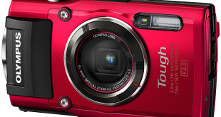 Olympus TG-4 16 MP Red