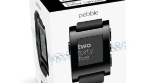 Pebble Time Smartwatch Box