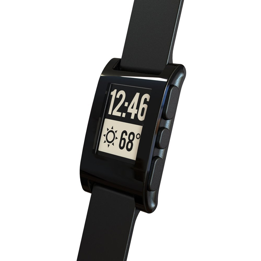Pebble Time Smartwatch Review Red How The Timeline Works Black