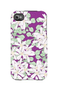 Uncommon LLC Primrose Capsule Hard Case for iPhone 4/4s