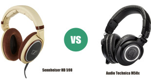 Audio Technica M50x vs Sennheiser HD 598