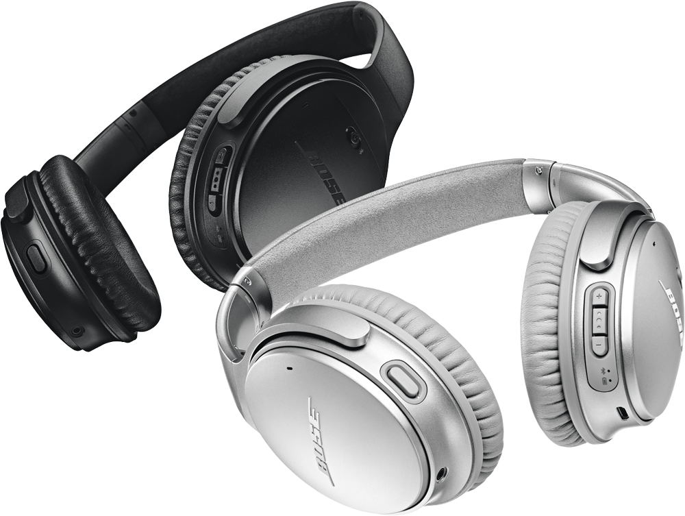 Bose QuietComfort 35 Black & Silver