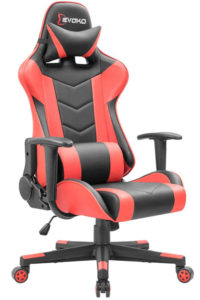 Devoko Ergonomic Gaming Chair Red
